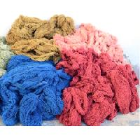 dyed organic yarns