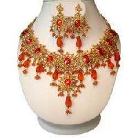 Polki Bridal Necklace Set