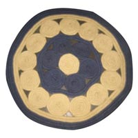 Round Polypropylene Braided Rugs