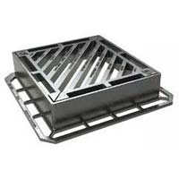 Double Triangular Type Cast Iron Gratings