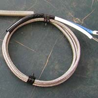 General Purpose thermocouple with SS Braided wire