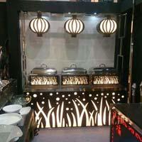 Acrylic Chafing Dish Counter