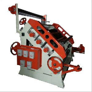 Single Face Oblique Corrugating Machine