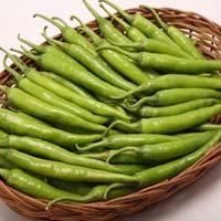 Fresh Green Chillies