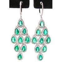 Diamond Chandelier Earring (CWCGE202)