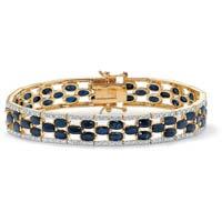 Diamond Gemstone Bracelet (CWDGB331)