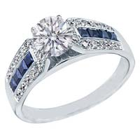 Diamond Solitaire Ring (CWDSGR0002)