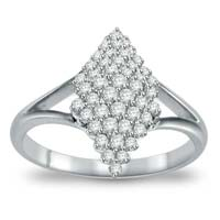 Diamond White Gold Ring (CWDWGR0001)