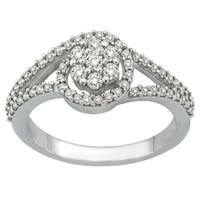 Diamond White Gold Ring (CWDWGR0002)