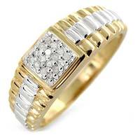 Mens Diamond Ring (CWDMGR001)
