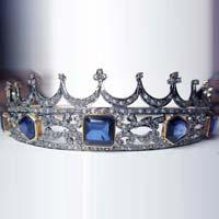 Victorian Tiara Crown (CWVTC260)