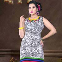 Decent Looks Cotton Printed Kurti