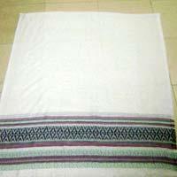 Plain Woolen Stole 01