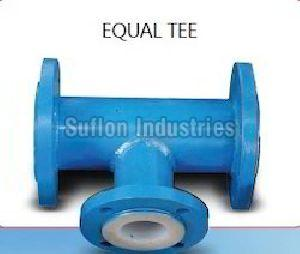 PTFE Lined Equal Tee