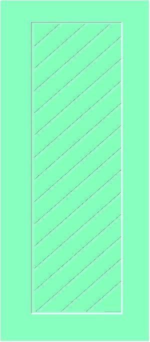 Fibro Plast Bathroom Door-ID 1202
