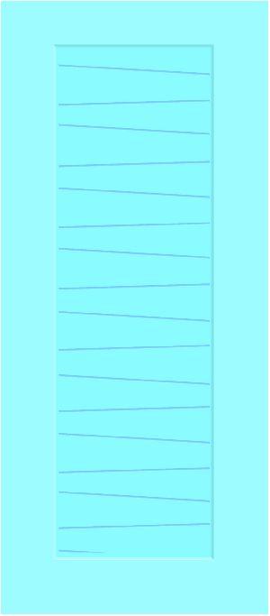 Fibro Plast Bathroom Door-ID 1204