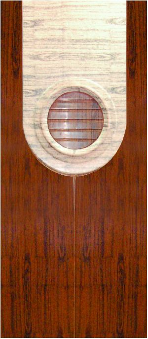 OD 604 V Fibro Plast Industrial Door