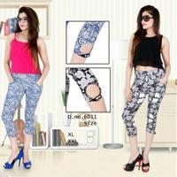 Ladies Nightwear Capris (6011)