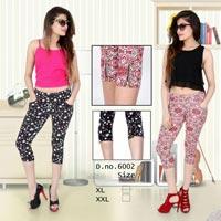 Ladies Nightwear Capris (6002)