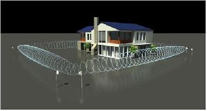 Perimeter Security System Installation