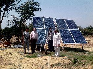 Solar Agriculture Pump Installation 01