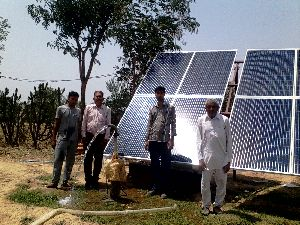 Solar Agriculture Pump Installation 02