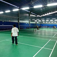 Table Tennis Court Vinyl Flooring