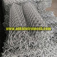 Heavy Zinc Coated Galvanized Chain Link Mesh