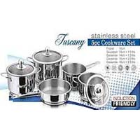 Stainless Steel Tuscany Set-5 Pcs