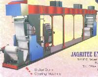 Sticker Gum Coating Machine