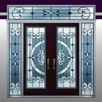 Decorative Window Glass 05