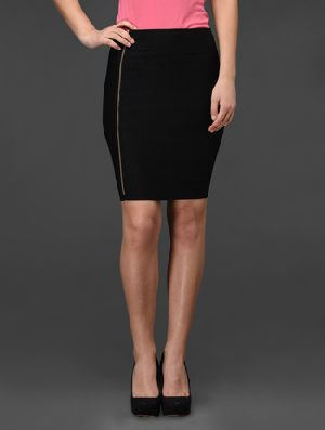 Single Ziper Boycon Skirt
