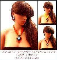 Light Weight  Terracotta Necklace sets for this SUMMER
