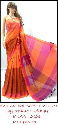 Soft Cotton Saree coming up with fresh, beautiful and colourful designs