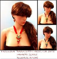 Terracotta Necklace handmade using river bed clay