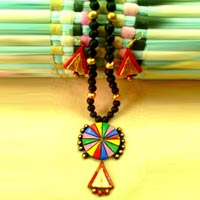 Traditional Ethnic Fashionable Terracotta Necklace
