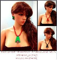 Wholesale Terracotta Necklace sets could be worn on any outfit