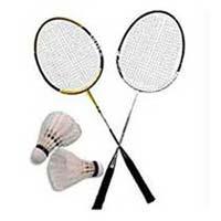 Badminton Racket & Cock