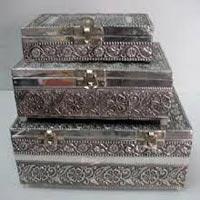 Wooden Boxes 3 pcs set