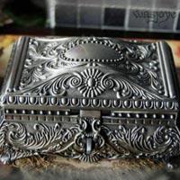 Metal Jewellery Boxes 3pcs set