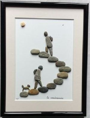 Natural Pebbles Art Frames