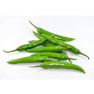 Fresh Green Chilli 02