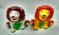 Lion With Kids Toy