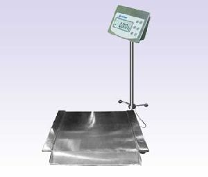 STAINLESS STEEL LOW PROFILE FLOOR SCALES