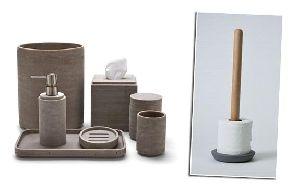 Concrete Bathroom Accessories 01