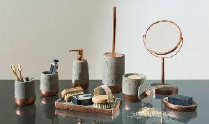 Concrete Bathroom Accessories 02