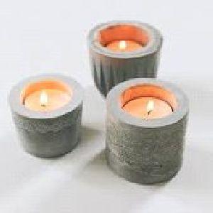 Concrete Candle 02