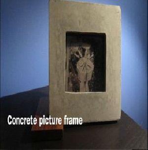 Concrete Photo Frame 04