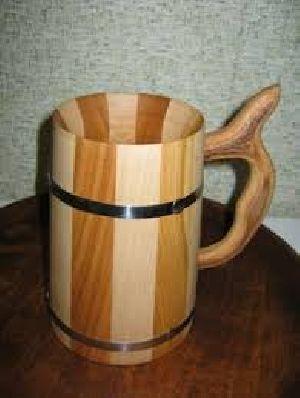 Wooden Mug 02