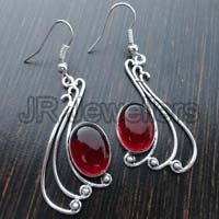 Red Hydro Earrings